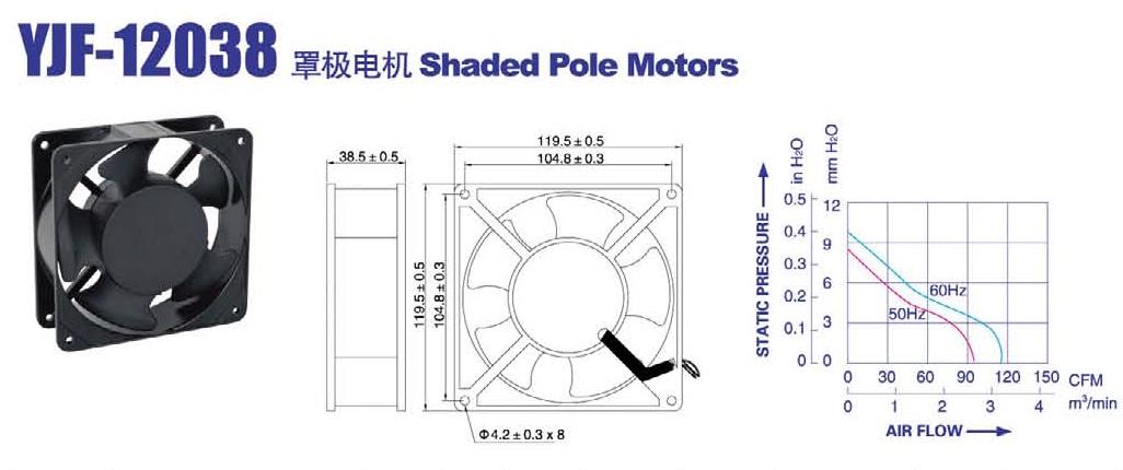 YJF 12038 HS / HB Weiguang